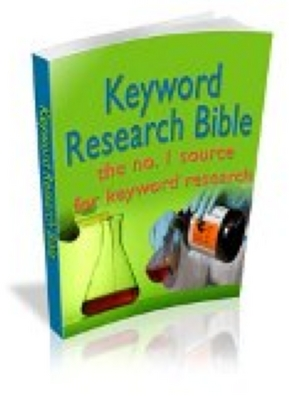 Product picture The Keyword Research Bible With Resell Rights