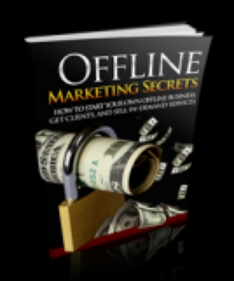 Product picture Offline Marketing Secrets With Resell Rights