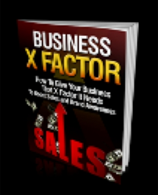 Product picture Business X-Factor With Resell Rights