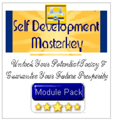 Product picture Self Development Masterkey With Resell Rights