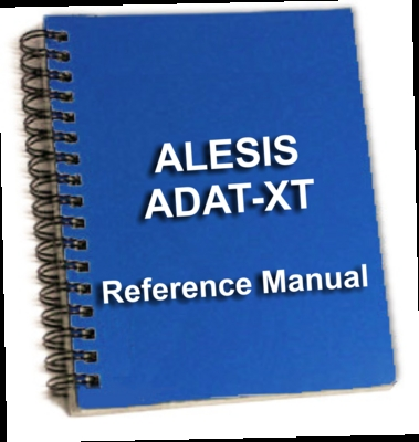 Product picture Alesis ADAT-XT Digital Multitrac Reference Manual ebook